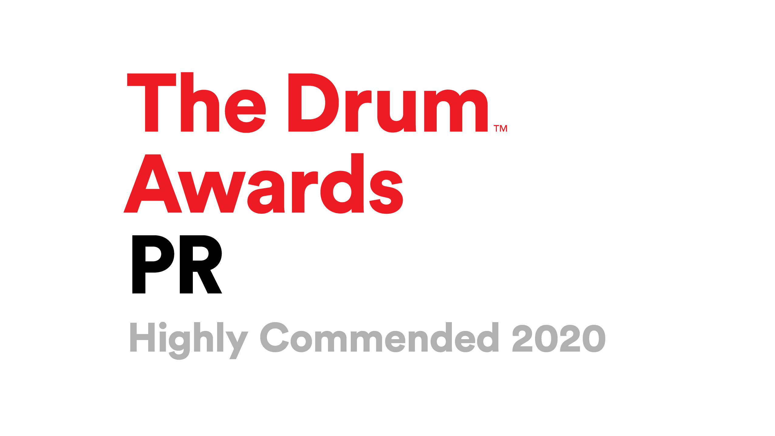 Ballou at the Drum PR awards
